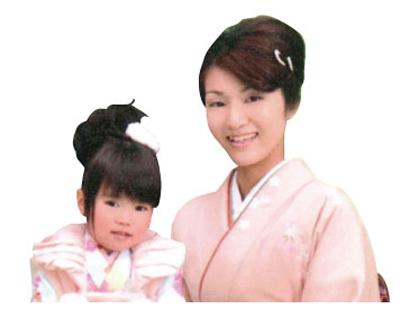 寺尾孔美子ママ/優亜ちゃん